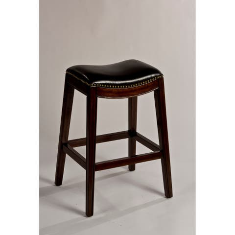 The Gray Barn Chatterly Non-swivel Backless Counter Stool - 25.75H x 20.5W x 16L