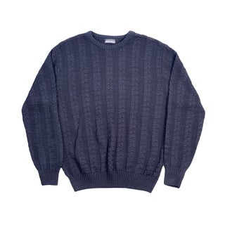 Cooper Men's Crew Neck Sweater - Size L
