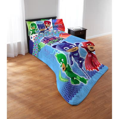 PJ Masks On Our Way 5-piece Bed in a Bag Set