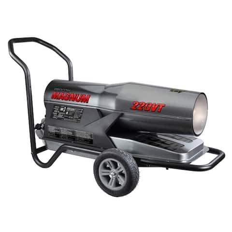 ProCom Kerosene Forced Air Heater - 160,000-220,000 BTU, Multifuel, Model# PCK220VT