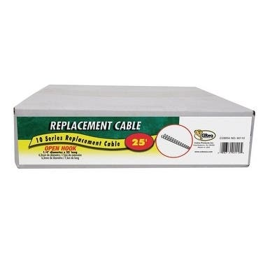 Cobra 1/4 in. Replacement Cable 25 ft. L