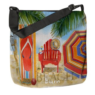 Beach Medley Adjustable Strap Tote Bag