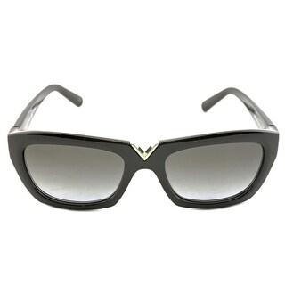 Valentino V665S Sunglasses Black/ Gray - Black
