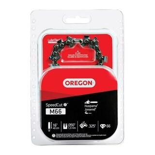 Oregon SpeedCut Chainsaw Chain 66 links 16 in. For Husqvarna, Jonsered M66