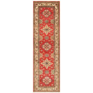 Handmade Kazak Wool Runner (Afghanistan) - 2'8 x 9'4
