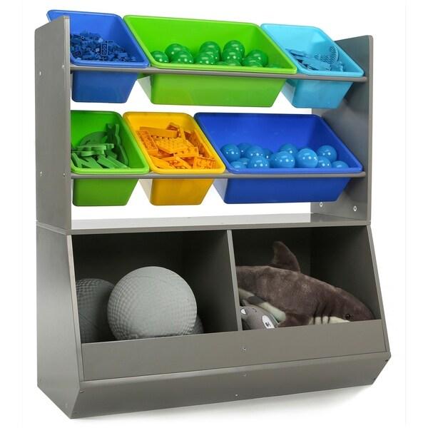 Superieur Grey Mega Toy Storage Organizer