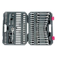 Crescent & Gearwrench  SAE/Metric  85 pc. Chrome Vanadium Steel  3/8 in. Socket Wrench Set