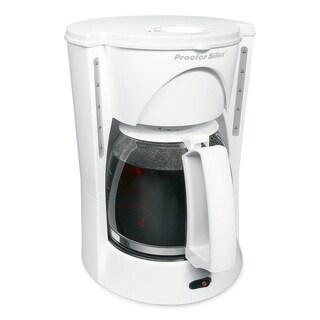 Proctor Silex Coffee Maker 12 cups White