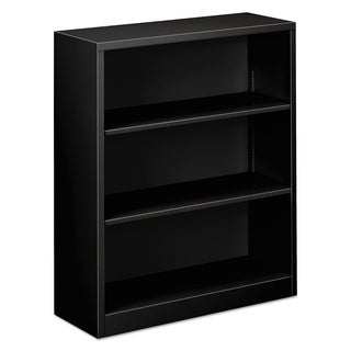 Alera Steel 3-Shelf Bookcase, 34.5 in. w x 12.63 in. d x 41 in. h