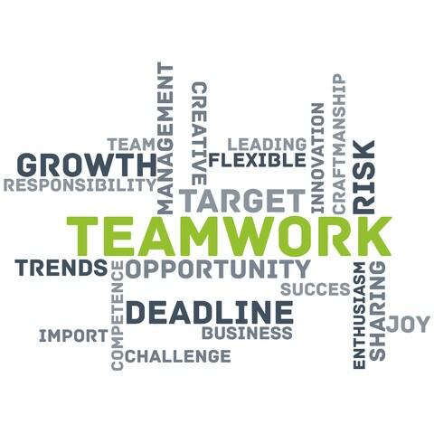 "Paperflow Office Deco Wall Transfers, Teamwork 25"" x 18"""