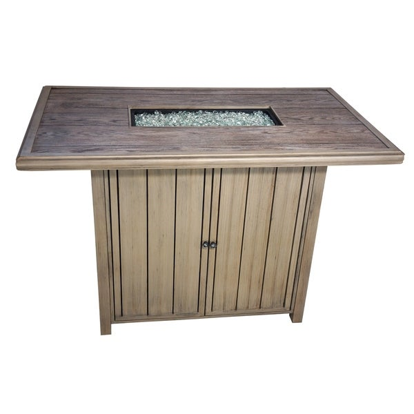 Mojave Bar Height Fire Pit Table