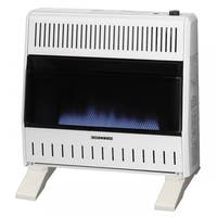 ProCom Dual Fuel Ventless Blue Flame Heater - 30,000 BTU, Model# MNSD300TBA-BB