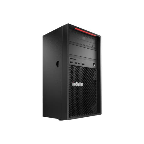 Lenovo ThinkStation P520c 30BX001AUS Workstation - 1 x Xeon W-2123 - 16 GB RAM - 512 GB SSD