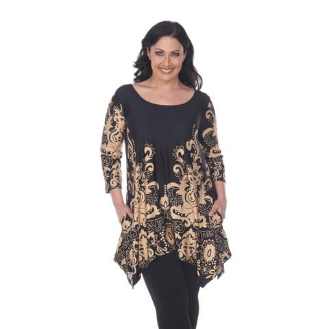 4121977b11a8e2 Buy Brown Women's Plus-Size Tops Online at Overstock | Our Best ...