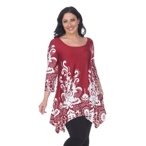 547312e25ca Buy Red Women's Plus-Size Tops Online at Overstock | Our Best ...