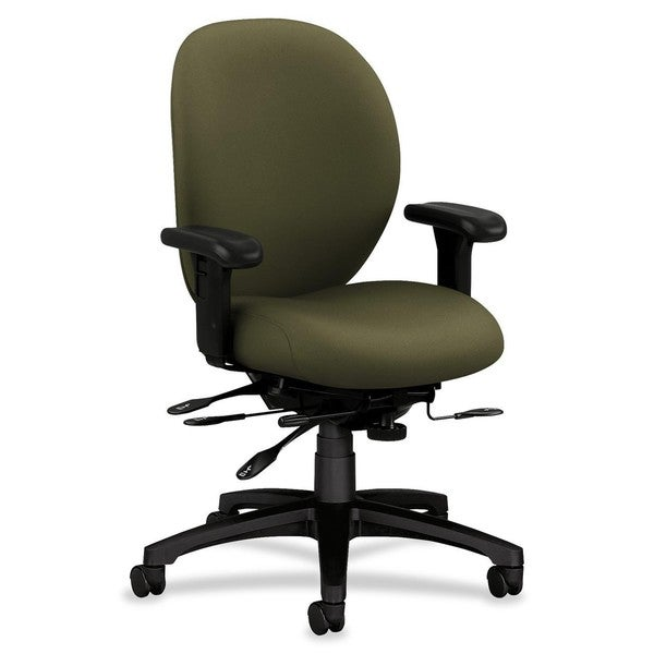 HON 7600 Series Mid-Back Chairs with Seat Glide