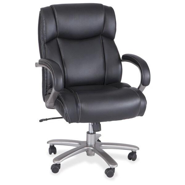 Groovy Safco Heavy Duty Big And Tall Mid Back Task Chair 400 Lb Capacity Black N A Interior Design Ideas Lukepblogthenellocom