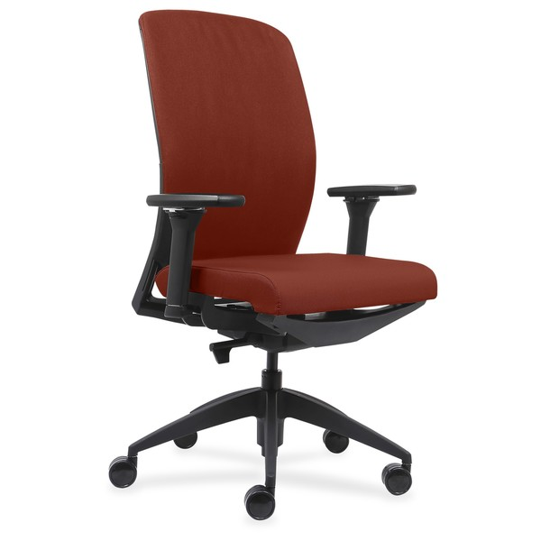Attrayant Lorell Executive Chairs With Fabric Seat U0026amp; ...