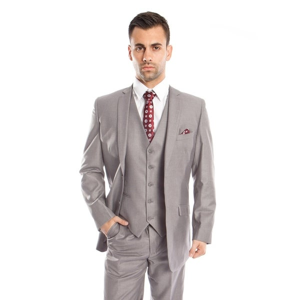 Mens Suit Set 3 Piece Suit Notch Lapel Suit Set