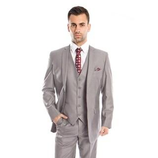 Men's Suit Set 3 Piece Suit Notch Lapel Suit Set
