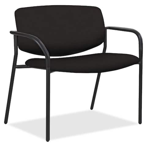 Lorell Bariatric Guest Chairs with Fabric Seat & Back