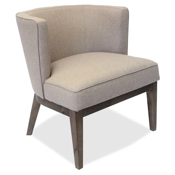 Lorell Linen Fabric Accent Chair. Opens flyout.