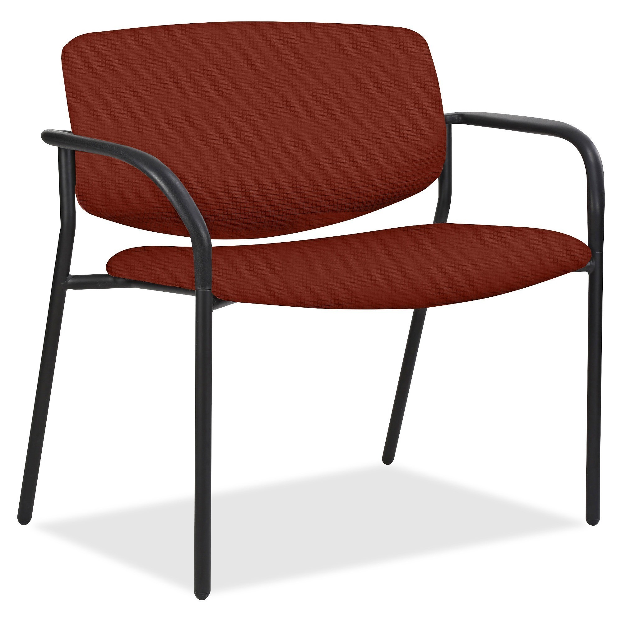 size 40 f1114 13d15 Lorell Bariatric Guest Chairs with Fabric Seat & Back