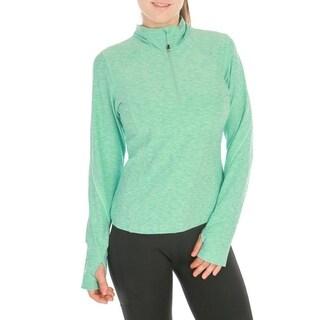 Women's Workout Yoga Running Track Jacket Long Sleeve w/ Thumb Hole