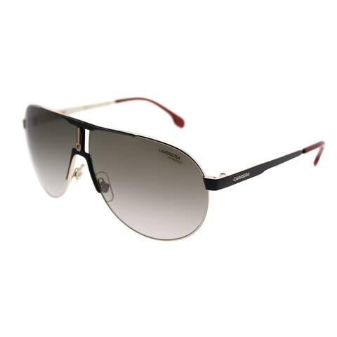 Carrera Aviator Carrera 1005/S 2M2 Unisex Black Gold Frame Brown Gradient Lens Sunglasses
