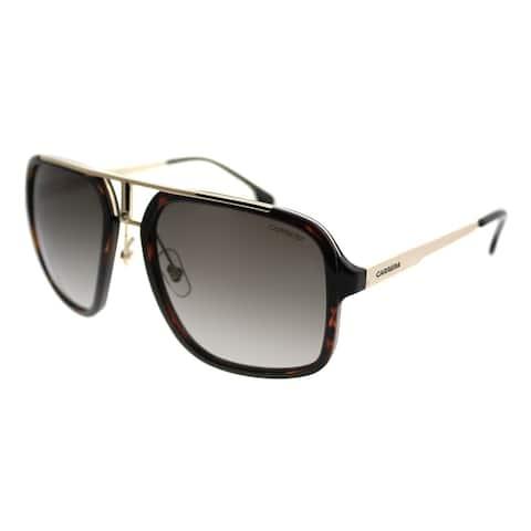 Carrera Aviator Carrera 1004/S 2IK Unisex Havana Gold Frame Brown Gradient Lens Sunglasses