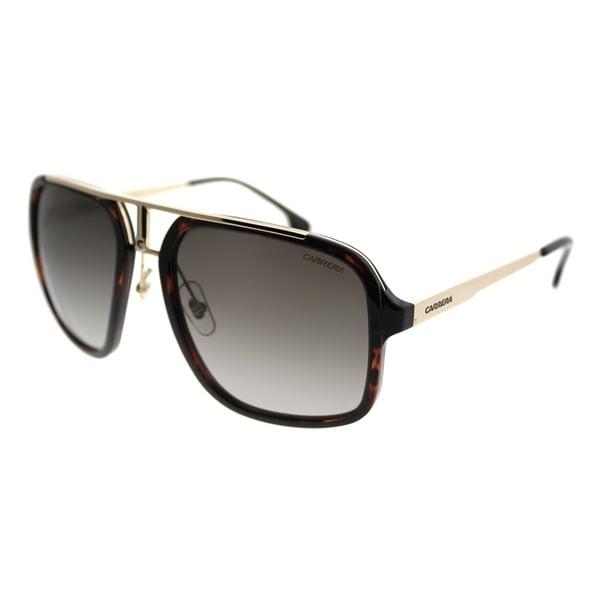 27f823c062ae Carrera Aviator Carrera 1004/S 2IK Unisex Havana Gold Frame Brown Gradient  Lens Sunglasses