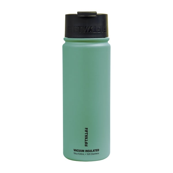 Shop Fiftyfifty 18 Ounce Vacuum Insulated Flip Top Water