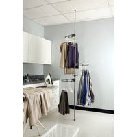 Adjustable Corner Valet Hangers Stand