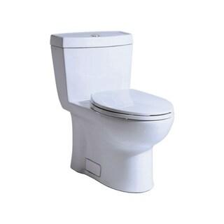 Niagara Stealth Single Flush Elongated One-Piece Toilet, 0.8 GPF N7711 White