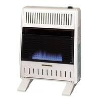 ProCom Dual Fuel Ventless Blue Flame Heater - 20,000 BTU, Model# MNSD200TBA-BB