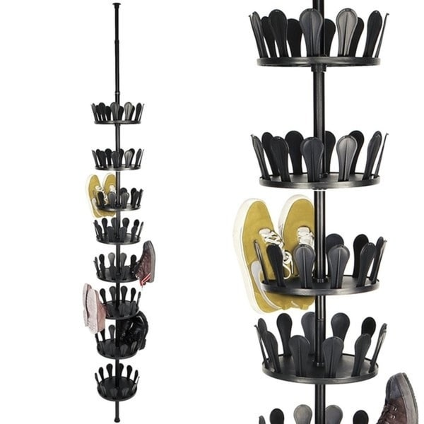 Telescope 36 Pair Hanging Shoe Organizer