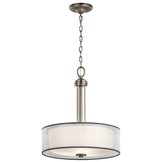 Kichler Lighting Tallie Collection 3-light Antique Pewter Pendant - Antique Pewter