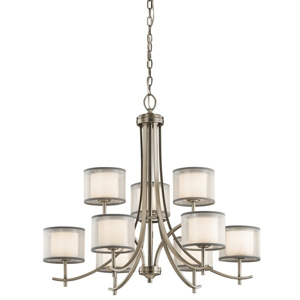 Kichler Lighting Tallie Collection 9-light Antique Pewter Chandelier - Antique Pewter