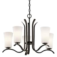 Kichler Lighting Armida Collection 5-light Olde Bronze LED Chandelier - Olde Bronze