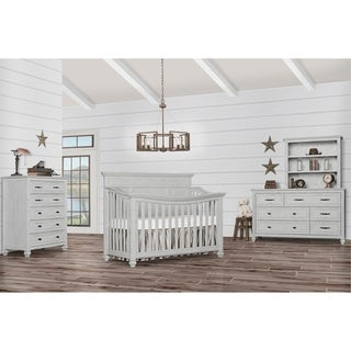 Evolur Madison 5 in 1 Flat Top Convertible Crib