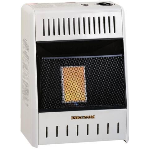 ProCom Natural Gas Ventless Plaque Heater - 6,000 BTU