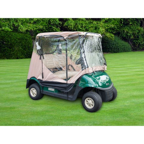 7' Golf Cart Enclosure Cover for 2-Seater by Trademark Innovations