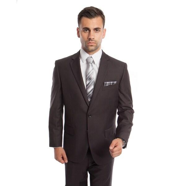 Men's Suit Set 2 Piece Set Notch Lapel Suit Set