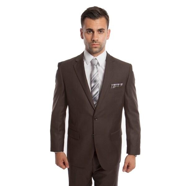 Men's Suit Set 2 Piece Set Notch Lapel Suit Set. Opens flyout.