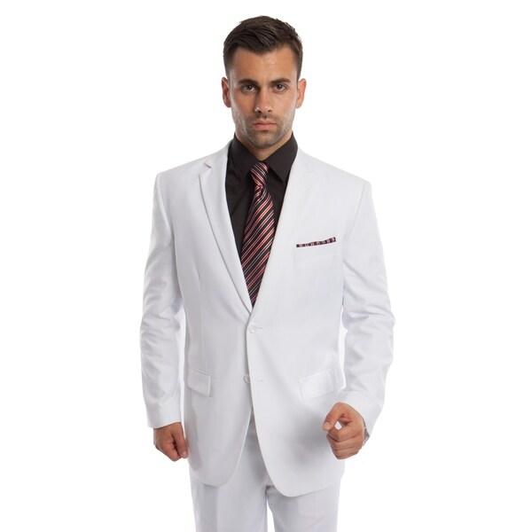 Mens Suit Set 2 Piece Set Notch Lapel Suit Set
