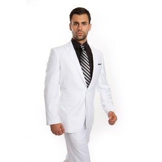 Men's Suit 2 Piece Peak Lapel Suit Set