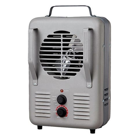 Soleil Milk House Utility Heater Gray