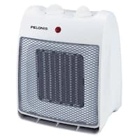 Pelonis  Electric  Ceramic  Blower Fan  Thermostat White