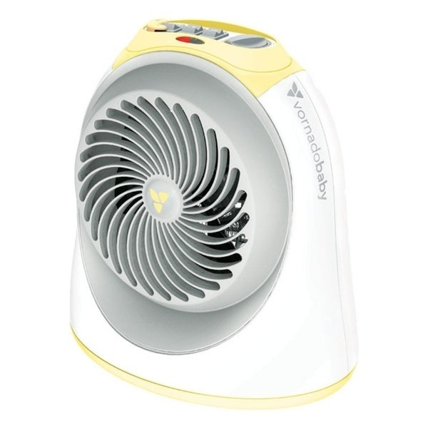 Vornado Sunny Electric Fan Thermostat Heater White