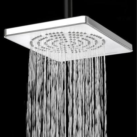 "AKDY SH0035 9"" Rainfall Shower Waterfall Style Head 2 Setting Multi-Function Contemporary"